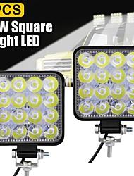 cheap -1pcs/2pcs Car Light Bulbs 48 W 16 LED Working Lights For universal All Models All years