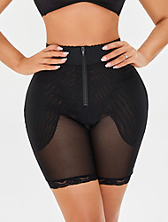 cheap -Corset Women's Plus Size Control Panties Seamless Simple Style Breathable Comfortable Classic Tummy Control Fashion Pure Color Seamed Hook & Eye Nylon Polyester Christmas Halloween Wedding Party
