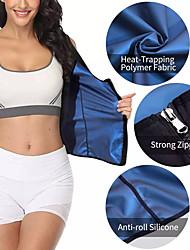 cheap -bodybuilding shapewear sweatband corset neoprene rubber zipper shapewear sauna vest