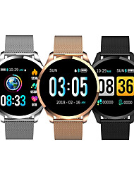 cheap -LITBest Q9 Smart Band Fitness Bracelet Bluetooth 1.2 inch Screen IP 67 Waterproof Touch Screen Heart Rate Monitor ECG+PPG Timer Pedometer for Android iOS Samsung Xiaomi Apple Men Women / Sports