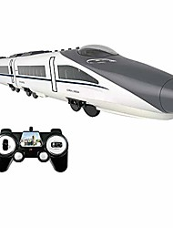 cheap -Remote Control Toy for Toddlers, High-Speed Rail Harmonious Train Set RC Train Model RC Car (White)