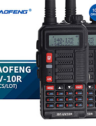 cheap -baofeng uv 10r professional walkie talkies high power10w dual band 2 way cb ham radio hf transceiver vhf uhf bf-tr818uv new