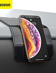 cheap -BASEUS Phone Holder Stand Mount Car Magnetic Type Vehicle Center Console Polyurethanes Phone Accessory iPhone 12 11 Pro Xs Xs Max Xr X 8 Samsung Glaxy S21 S20 Note20