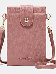 cheap -women 3 card slots solid phone bag crossbody bag shoulder bag