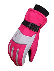 cheap -12-18 Year Old Kids Winter Waterproof Ski Snowboard Cycling Warm Insulated Gloves