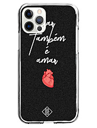 cheap -heart fashion case for apple iphone 12 iphone 11 iphone 12 pro max unique design protective case shockproof back cover tpu instagram style case