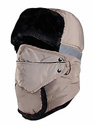 cheap -Trapper Hat Winter Ushanka Tropper Hunting Ski Cap for Men Women Unisex Ear Flap Khaki