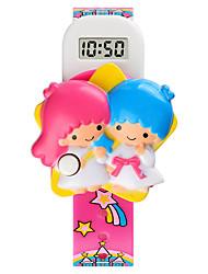 cheap -SKMEI Kids Digital Watch Digital Digital Cartoon Calendar / date / day Cute Creative / One Year