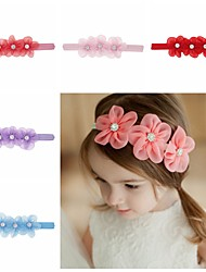 cheap -1pcs Toddler / Infant Girls' Sweet Floral Floral Style Hair Accessories White / Blue / Purple One-Size