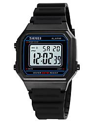cheap -SKMEI Boys' Sport Watch Digital Digital Sporty Stylish Calendar / date / day Chronograph Alarm Clock / One Year / Silicone