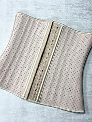 cheap -25 steel bone breathable mesh rubber shapewear net red 30cm abdominal girdle