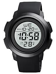 cheap -SKMEI Men's Sport Watch Digital Digital Stylish Calendar / date / day Chronograph Alarm Clock / One Year / Silicone