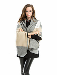 cheap -Sleeveless Shawls / Cute Imitation Cashmere Office / Career Shawl & Wrap / Women's Wrap With Patterned