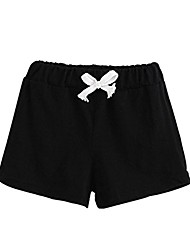 cheap -Summer Children Cotton Shorts Boys and Girl Clothes Baby Fashion Pants - Black - 2T(1-2Years)