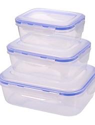 cheap -2pcs Storage Boxes Plastics Jars & Boxes Daily Wear 500 ml kitchen storage