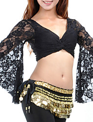 cheap -Belly Dance Top Lace Women's Training Performance Long Sleeve Lace