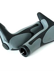 cheap -bike ergo grips bar end cycle lock on handlebar mountain bicycle(gx-849ad3-l1-g2) (celeste×black)