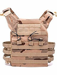 cheap -600d hunting tactical vest military airsoft paintball outdoor light protective vest sport (color: three sand camo)