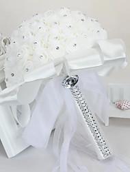 cheap -Wedding Flowers Bouquets Wedding / Wedding Party Grosgrain / Glasses / PORON 11-20 cm