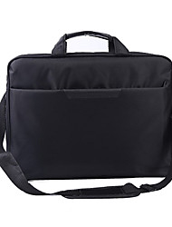 cheap -Unisex Waterproof Oxford Cloth Laptop Bag Zipper Solid Color Daily Office & Career Black