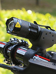 cheap -LED Bike Light Front Bike Light Headlight Flashlight LED Mountain Bike MTB Bicycle Cycling Waterproof Multiple Modes Portable Easy to Install AA / 14500 2000 lm 1 × AA Battery White Camping / Hiking