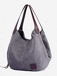 cheap -women vintage ladies large canvas handbag travel shoulder bag casual tote
