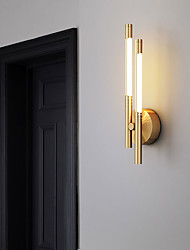 cheap -LED Nordic Style Flush Mount Wall Lights Living Room Copper Wall Light Generic / LED Integrated / CE Certified