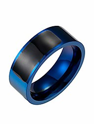 cheap -NFC Smart Ring New Technology for Android Windows and Iphonexs Phone Smart Accessories Payment,NFC Wearable Finger Digital Ring Titanium Steel Jewelry,blue plated 13