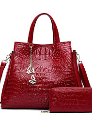 cheap -women fashion crocodile handbag ladies shoulder bag