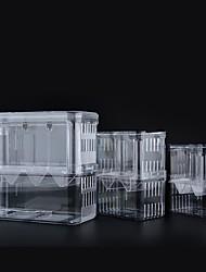 cheap -Transparent Acrylic Fish Tank Breeding Isolation Box Aquarium Hatchery Incubator Holder