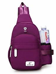 cheap -women nylon large capacity daily crossbody bag waterproof durable chest bag shoulder bag
