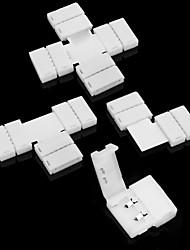 cheap -ZDM® 5pcs 5-24 V Strip Light Accessory Plastic & Metal Accessories for RGB LED Strip Light for LED Strip light 60 W