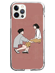cheap -Anime Fashion Case For Apple iPhone 12 iPhone 11 iPhone 12 Pro Max Unique Design Protective Case Shockproof Back Cover TPU