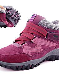 cheap -high top warm wool cotton lining buckle flat boots
