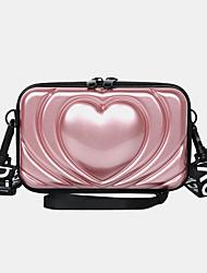 cheap -women 6.5 inch love solid trunk phone bag crossbody bag