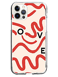 cheap -phrase fashion case for apple iphone 12 11 se2020 unique design love word case protective case shockproof back cover tpu instagram style case