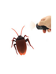 cheap -Infrared Remote Control Electric Cockroach Simulation Induction Cockroach Spoof Toy