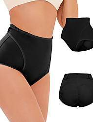 cheap -apron buttons to adjust the abdomen waist hips and padded body shapewear pants a1299