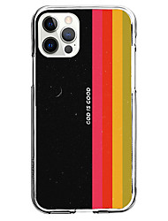 cheap -phrase fashion case for apple iphone 12 11 se2020 unique design god is good protective case shockproof back cover tpu instagram style case
