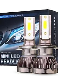 cheap -Mini Car COB LED Headlights Bulbs H1 H4 H7 H8 9005 9006 9012 Fog Lamp 10000LM 6000K White DC 9-32V 2Pcs