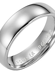 cheap -New Mens Tungsten Ring 6mm Wide Engraved Forever Together Inside The Ring. Available in Most Sizes Click Through to See Other Sizes Comes in a Quality Gift Box