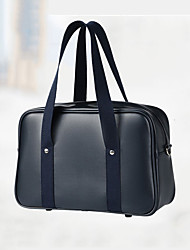 cheap -women pu leather waterproof student school bag casual shoulder bag handbag