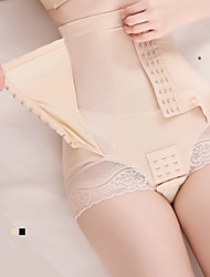 cheap -Postpartum High-waist Belly Pants Button-up Type Waist-up Hip Goddess Body Shaping Pants No Trace Slimming Shaping Panties Shapewear