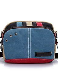 cheap -women canvas crossbody bags contrast color casual small shoulder bags messenger bags