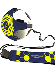 cheap -Football kick Hands-Free Adjustable Solo Soccer Trainer football training belt volley ball rugby rainer kick throw solo practice training aid control skills adjustable waist belt for Kids Adults