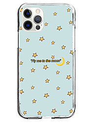 cheap -Word / Phrase Fashion Case For Apple iPhone 12 iPhone 11 iPhone 12 Pro Max Unique Design Protective Case Shockproof Back Cover TPU