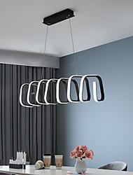 cheap -90 cm Dimmable Single Design Pendant Light Metal Acrylic Painted Finishes LED Modern 110-120V 220-240V
