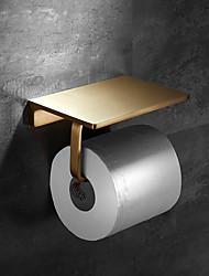 cheap -Toilet Paper Holder / Bathroom Shelf New Design Contemporary Brass 1pc - Bathroom Wall Mounted