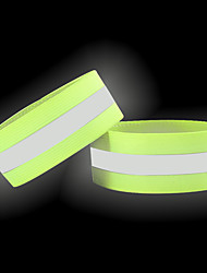 cheap -reflective bands for arm, wrist, ankle, leg. reflector bands. high visibility reflective running gear for women and men cycling walking bike safety tape straps - bicycle pants clip, cuff (2 pink)