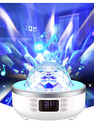 cheap -Star Galaxy Projector Light with Bluetooth Music Speaker Rotating LED Projector Dimmable colors Party Wedding Gift Random Color